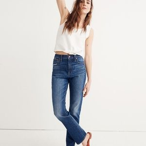 Madewell sz 30 Tall The High-Rise Slim Boyjean